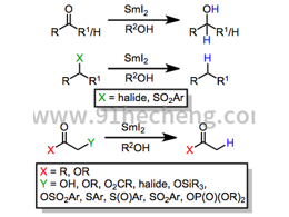 用碘化钐(II)还原反应