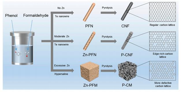 姚向东团队Chem: 多种拓扑碳缺陷的可控合成及催化构效分析