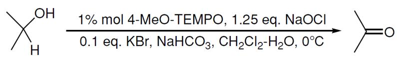 TEMPO氧化醇到醛酮